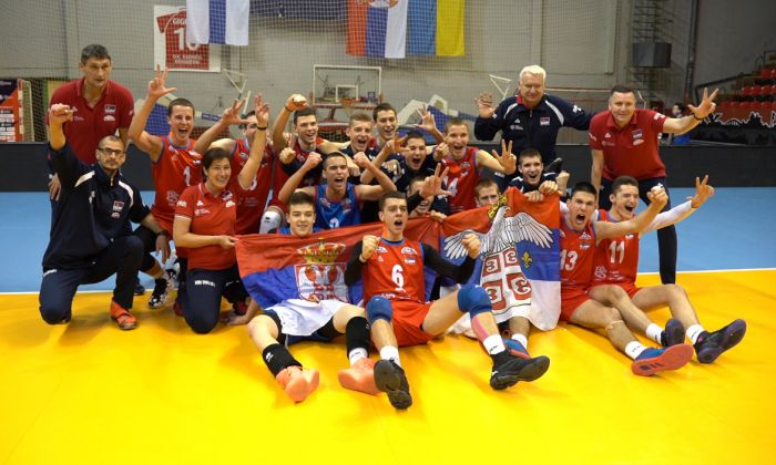 Video: Pioniri Srbije se kvalifikovali na #EurovolleyU17M
